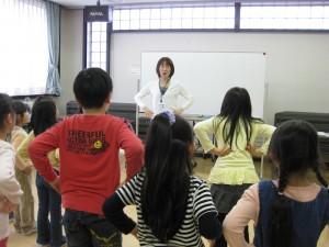放課後イングリッシュ 近藤 浩子さん活動風景