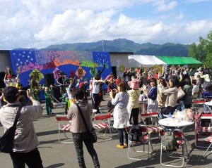 (中央ステージ)園祭フィナーレ