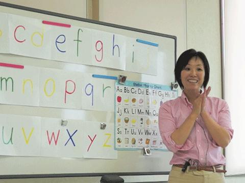 アルファベットの小文字と音とイニシャルレター(頭文字)から始まる単語を関連付けて理解することができます。